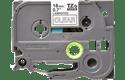 Original Brother TZe145 tape – hvid på klar, 18 mm bred 2