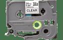 Originele Brother TZe-151 label tapecassette – zwart op transparant, breedte 24 mm 2