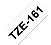 Cinta laminada TZe161 Brother