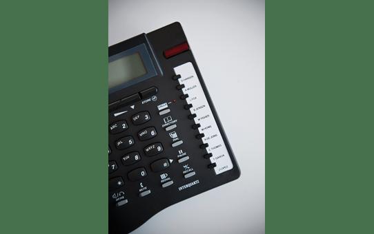 Cassette à ruban pour étiqueteuse TZe-211 Brother originale – Noir sur blanc, 6mm de large 4