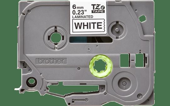 Cassette à ruban pour étiqueteuse TZe-211 Brother originale – Noir sur blanc, 6mm de large 2