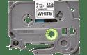 Brother TZe-221 original etikettape- svart på vit, 9 mm bred
