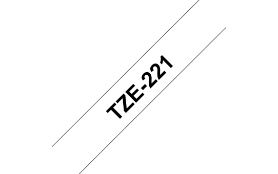 TZe-221 ruban d'étiquettes 9mm