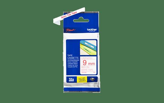 TZe-222 ruban d'étiquettes 9mm 3