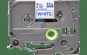 Originální kazeta s páskou Brother TZe-223 - modrý tisk na bílé, šířka 9 mm 2