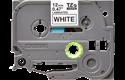 Originali Brother TZe-231 ženklinimo juostos kasetė – juodai balta, 12 mm pločio