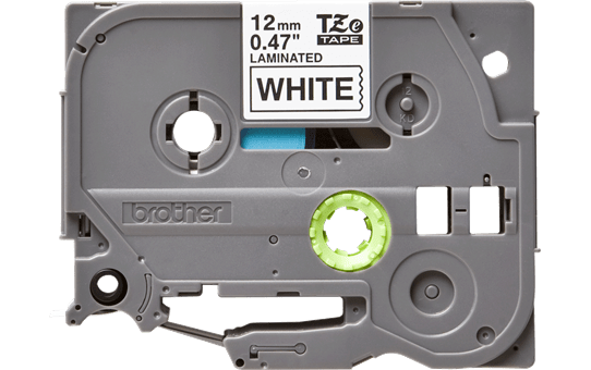 Genuine Brother TZe-231 Labelling Tape Cassette – Black on White, 12mm wide 2