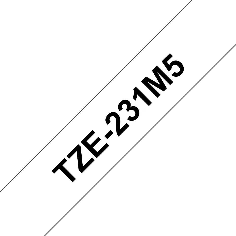 Image with text showing TZE-231M5