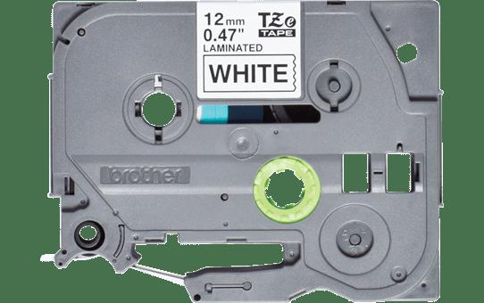 Cassette à ruban pour étiqueteuse TZe-231S Brother originale – Noir sur blanc, 12mm de large 2