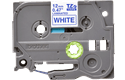 Brother TZe-233 - син текст на бяла ламинирана лента,  12mm ширина 2