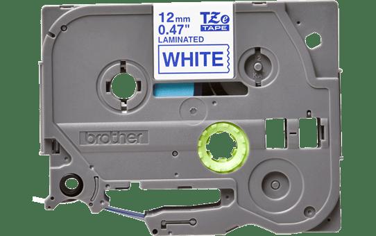 Brother original TZe233 merketape - blå på hvit, 12 mm bred 2
