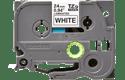 Original TZe-251 Schriftbandkassette von Brother – Schwarz auf Weiß, 24mm breit 2