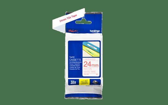 TZe-252 ruban d'étiquettes 24mm 3