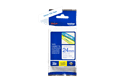 Originele Brother TZe-253 label tapecassette – blauw op wit, breedte 24 mm 3