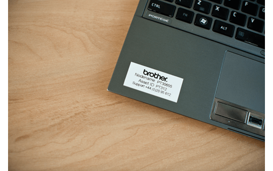 Cassette à ruban pour étiqueteuse TZe-261 Brother originale – Noir sur blanc, 36mm de large 4