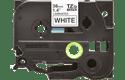 Original TZe-261 Schriftbandkassette von Brother – Schwarz auf Weiß, 36mm breit 2