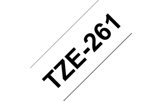Brother TZe-261 36mm labeltape