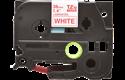 Cassetta nastro per etichettatura originale Brother TZe-262 – Rosso su bianco, 36 mm di larghezza