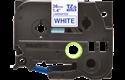 Original TZe-263 Schriftbandkassette von Brother – Blau auf Weiß, 36mm breit 2