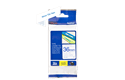 Genuine Brother TZe-263 Labelling Tape Cassette – Blue on White, 36mm wide 3
