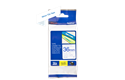 Originele Brother TZe-263 label tapecassette – blauw op wit, breedte 36 mm 3