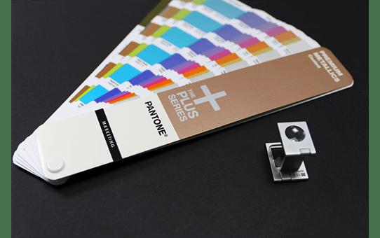 Cassette à ruban pour étiqueteuse TZe-315 Brother originale – Blanc sur noir, 6mm de large 4