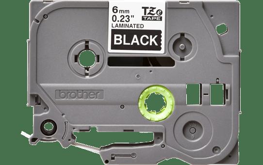 Original TZe-315 Schriftbandkassette von Brother – Weiß auf Schwarz, 6mm breit 2