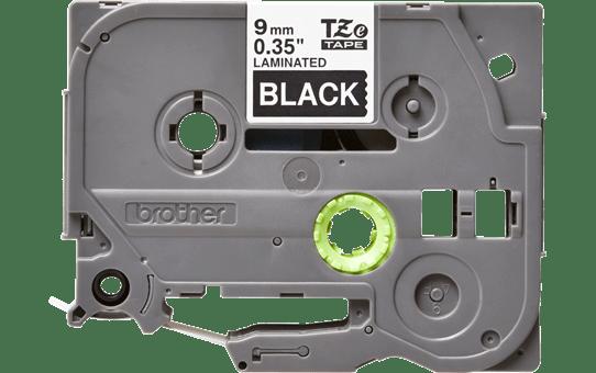 Original TZe-325 Schriftbandkassette von Brother – Weiß auf Schwarz, 9mm breit 2