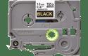 Originele Brother TZe-334 label tapecassette – goud op zwart, breedte 12 mm 2