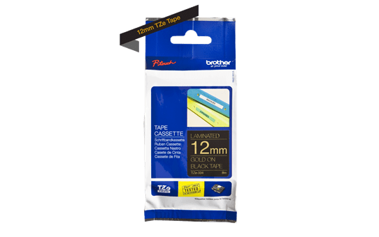 Brother TZe-334 12mm labeltape 3