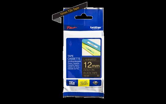 TZe-334 ruban d'étiquettes 12mm 3