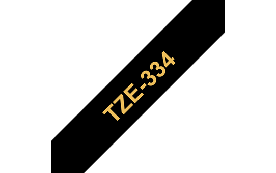 Brother TZe-334 12mm labeltape