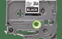 Originele Brother TZe-335 labeltape – wit op zwart, breedte 12 mm 2
