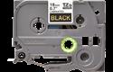 Originele Brother TZe-344 label tapecassette – goud op zwart, breedte 18 mm 2