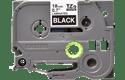 Original Brother TZe345 tape – hvid på sort, 18 mm bred 2