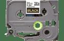 Cassetta nastro per etichettatura originale Brother TZe-354 – Oro su nero, 24 mm di larghezza