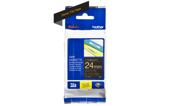 Brother TZe-354 24mm labeltape 3