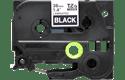 Cassette à ruban pour étiqueteuse TZe-365 Brother originale – Blanc sur noir, 36mm de large 2