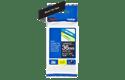 Oriģinālā Brother TZe365 baltas drukas melna uzlīmju lentes kasete, 36mm plata 3