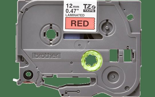 Originele Brother TZe-431 label tapecassette – zwart op rood, breedte 12 mm 2