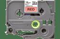 Original TZe-441 Schriftbandkassette von Brother – Schwarz auf Rot, 18mm breit 2