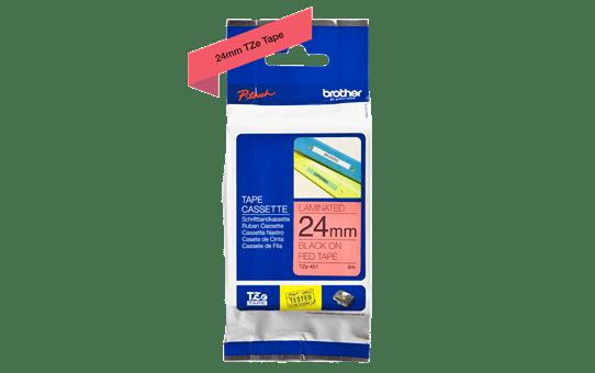 TZe-451 ruban d'étiquettes 24mm 4