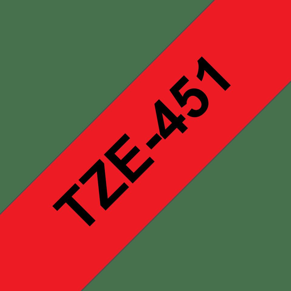 DRUCKER BESCHRIFTUNGSBAND 24mm GOLD-schwarz für BROTHER P-Touch TZE-354