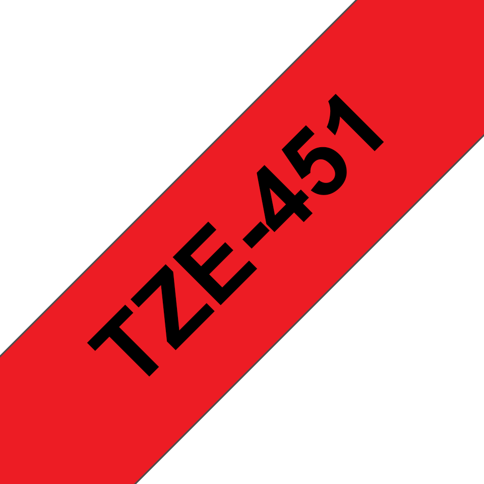 Cinta laminada TZe451 Brother