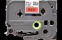 Original TZe-451 Schriftbandkassette von Brother – Schwarz auf Rot, 24mm breit 2
