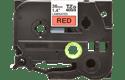 Brother TZe461 original etikettape, svart på röd, 36 mm