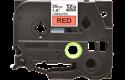 Eredeti Brother TZe-461 laminált szalag – Piros alapon fekete, 36 mm széles 2
