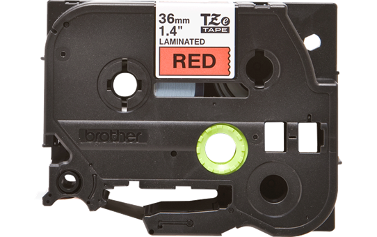 Originele Brother TZe-461 label tapecassette – zwart op rood, breedte 36 mm 2