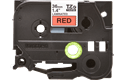Original TZe-461 Schriftbandkassette von Brother – Schwarz auf Rot, 36mm breit 2