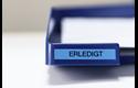 Original Brother TZe521 tape – sort på blå, 9 mm bred 4